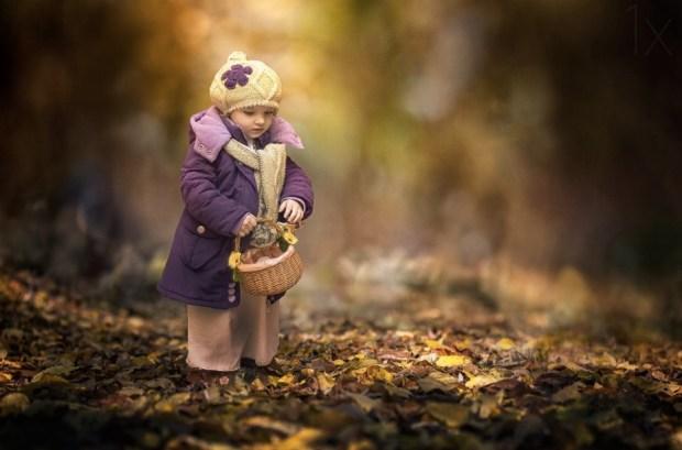 Small autumn fairy