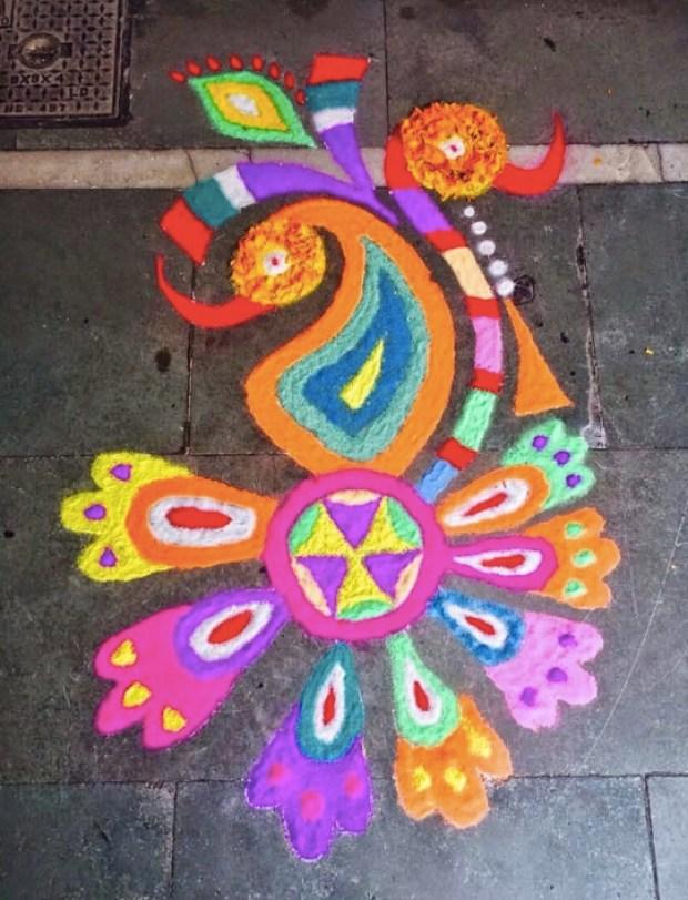 geometric-peacock-rangoli