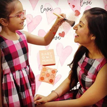 Mother Daughter Makeup time
