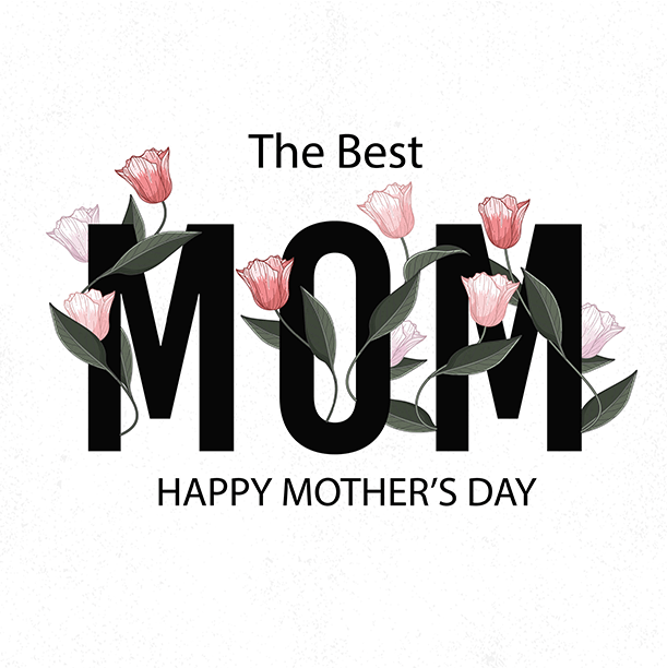 Mothers day greeting 611 x 612