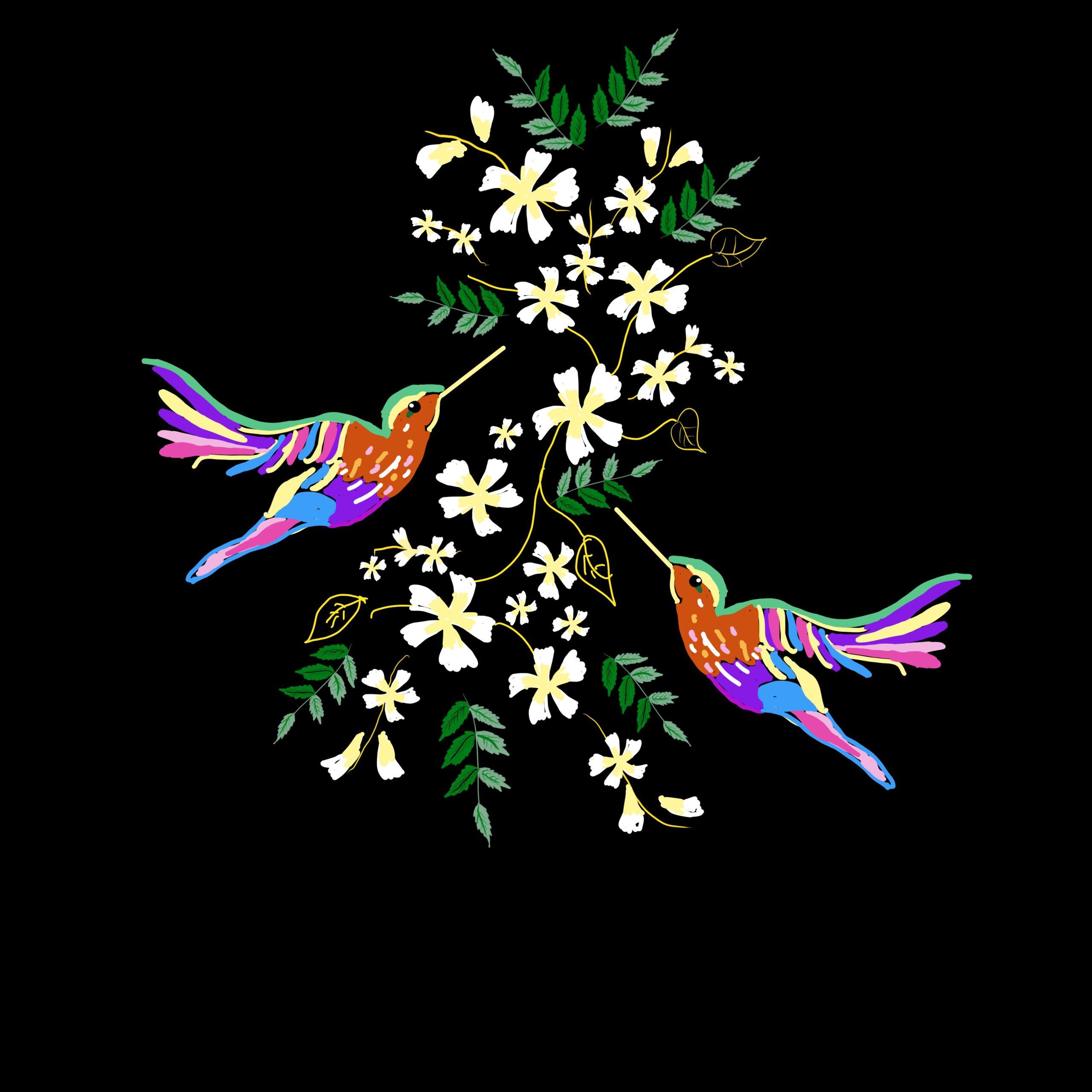 Flowers blooming in nature reel