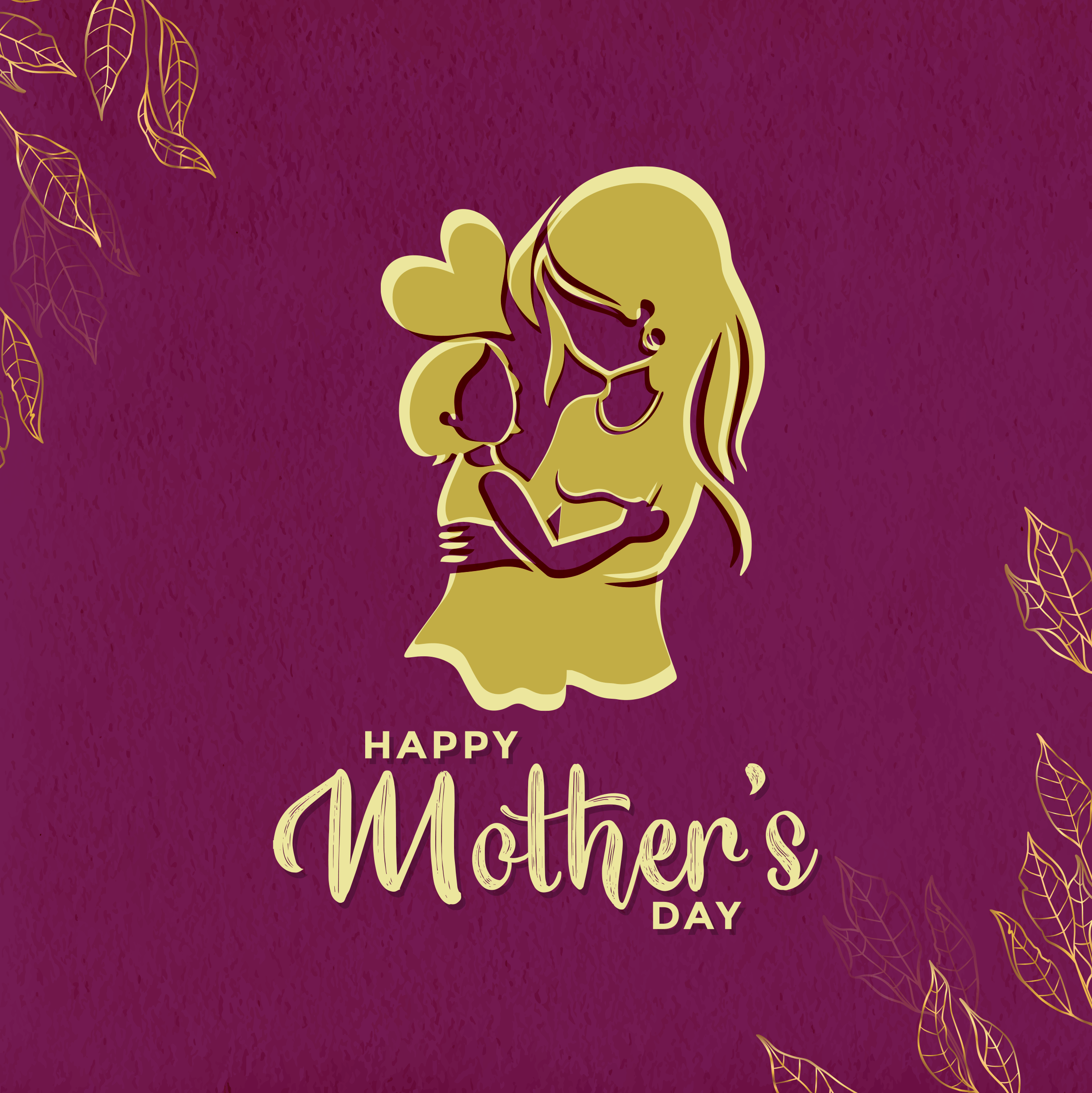 Mothers day greeting mother daughter 2446 x 2448