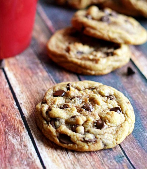 Cafe-Style Chocolate Chip Cookies