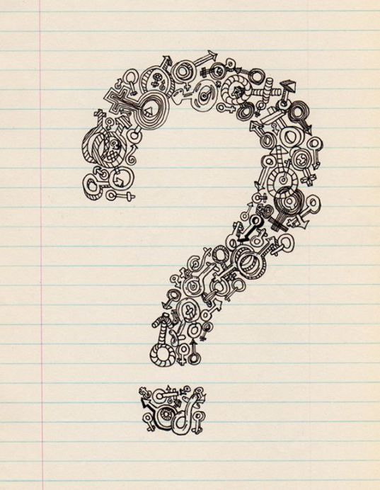 Question mark image 07