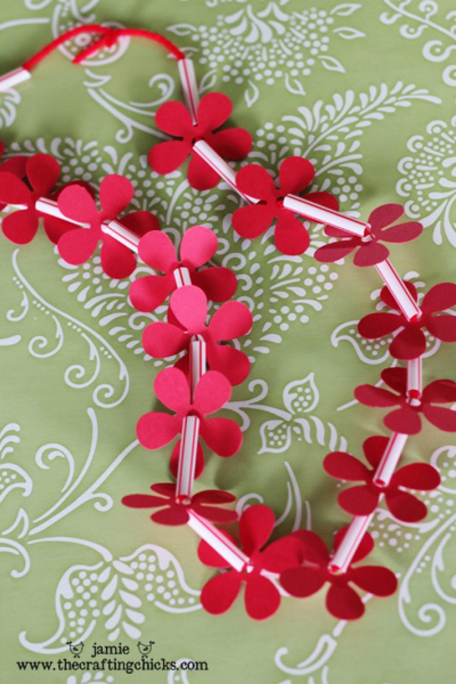 Hawaiian Flower Lei Necklace!