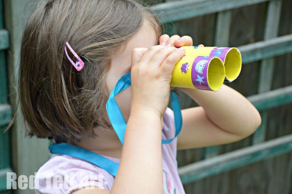 TP Roll Binoculars