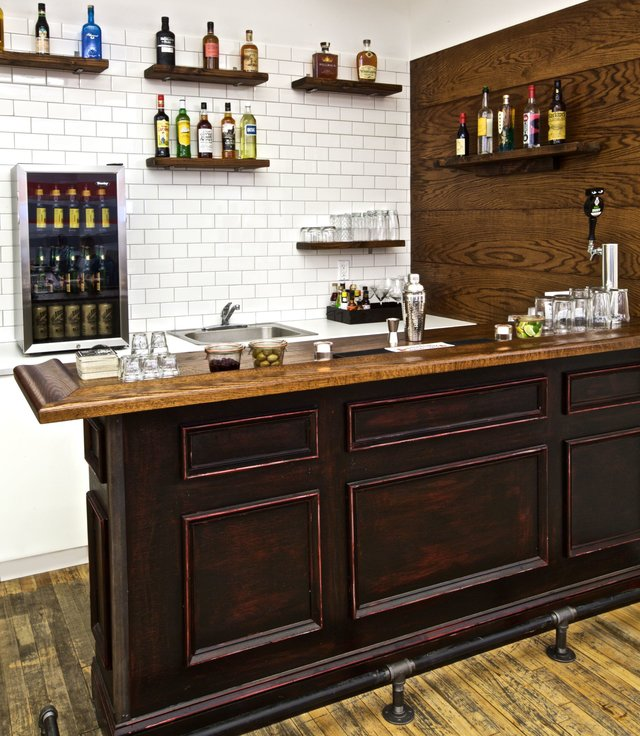 16 DIY Home Bar Ideas Cool DIYs