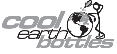 Cool Earth Bottles Logo Black