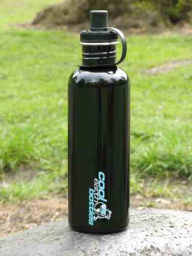 1000ml Stainless Steel Bottle – Black