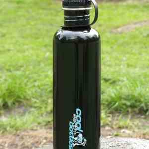 1 liter water bottle black