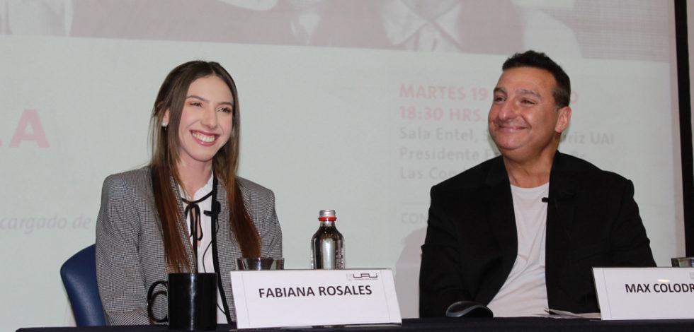 Fabiana Rosales en la UAI
