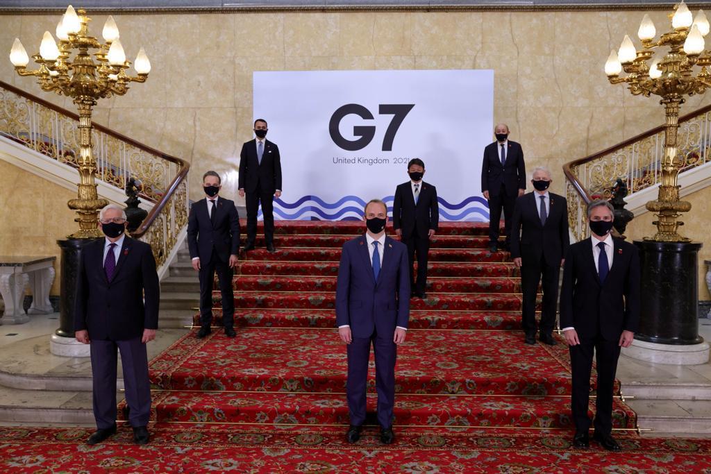 RUSIA, CHINA Y EL COMBATE CONTRA LA COVID-19: LAS CONCLUSIONES DE LOS CANCILLERES DEL G7