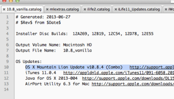 Create an up to date boot image of Mac OS X Lion 10 7 Using