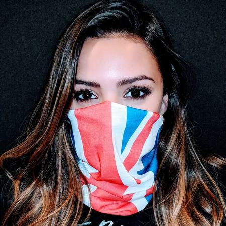 Great Britain Flag Face
