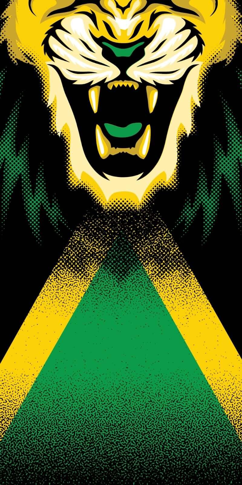 Jamaican Flag Face Bandana Soca Flag Face Mask Bandanas
