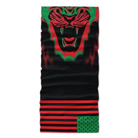Afro American Flag Face Bandana