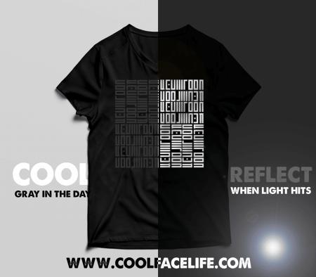 Cool-Face-Life-Reflect-Tshirt