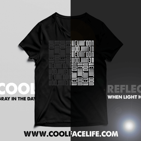 Cool-Face-Life-Reflect-Tshirt
