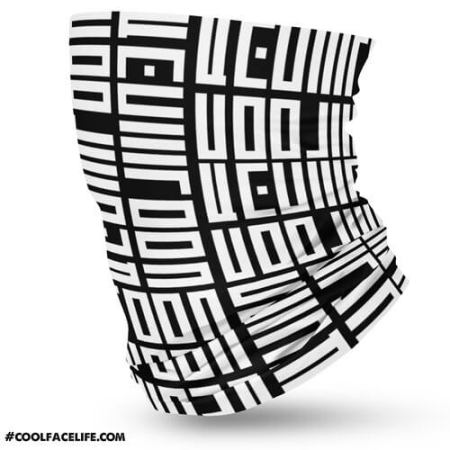 Cool Face Official Pattern Bandana