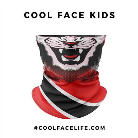 Kid Size - Trinidad & Tobago Flag Face Bandana