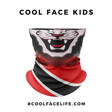 Kid Size - Trinidad & Tobago Flag Face Bandana