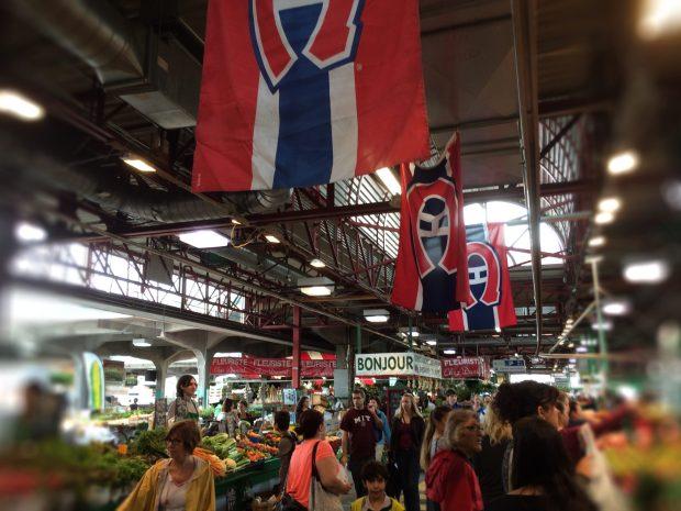 Jean Talon Market Montreal Canadians