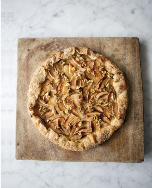 Apple Galette - Photograph by Andy Sewell