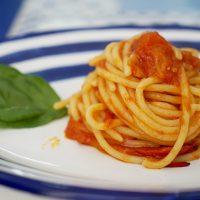 Spaghettone al Pomodoro