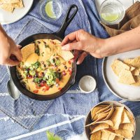Loaded Butternut Squash Queso