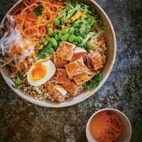 Tuna kokoro bowl