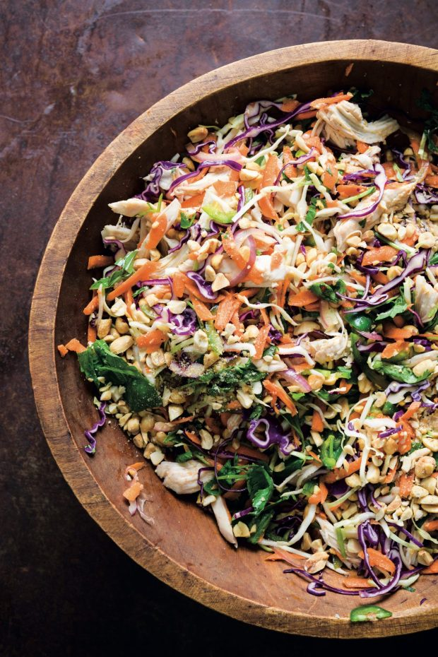 VietnameseChickenSalad withSweetLime-GarlicDressing(GoiGà), Excerpted from MILK STREET: The New Rules Copyright © 2019 by Christopher Kimball, photographs by Connie Miller of CB Creatives.