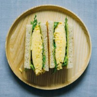 Tamago-sando with miso mayonnaise