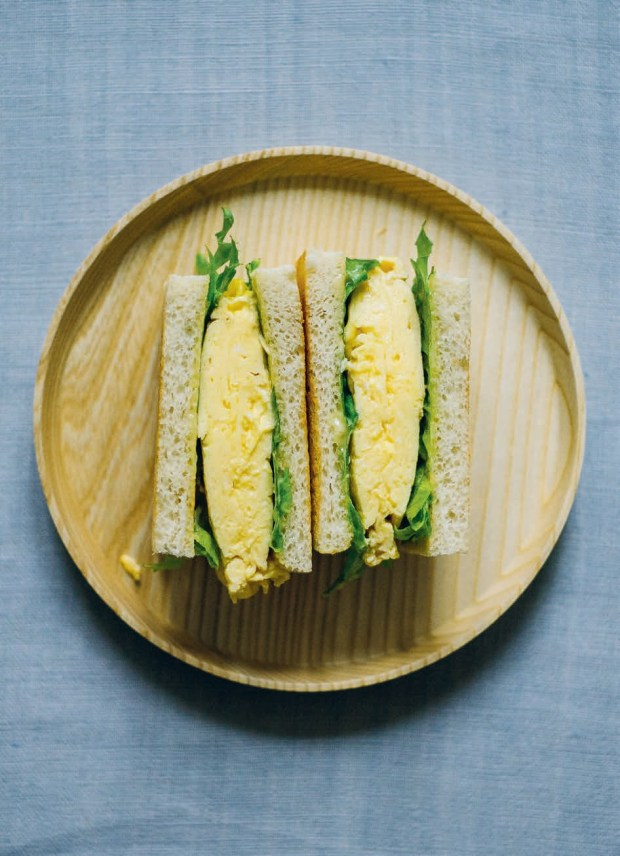 Tamago-sando with miso mayonnaise (Egg Sandwich)
