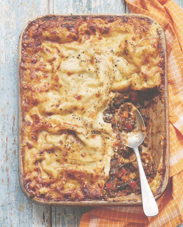 Roasted Aubergine Lasagna