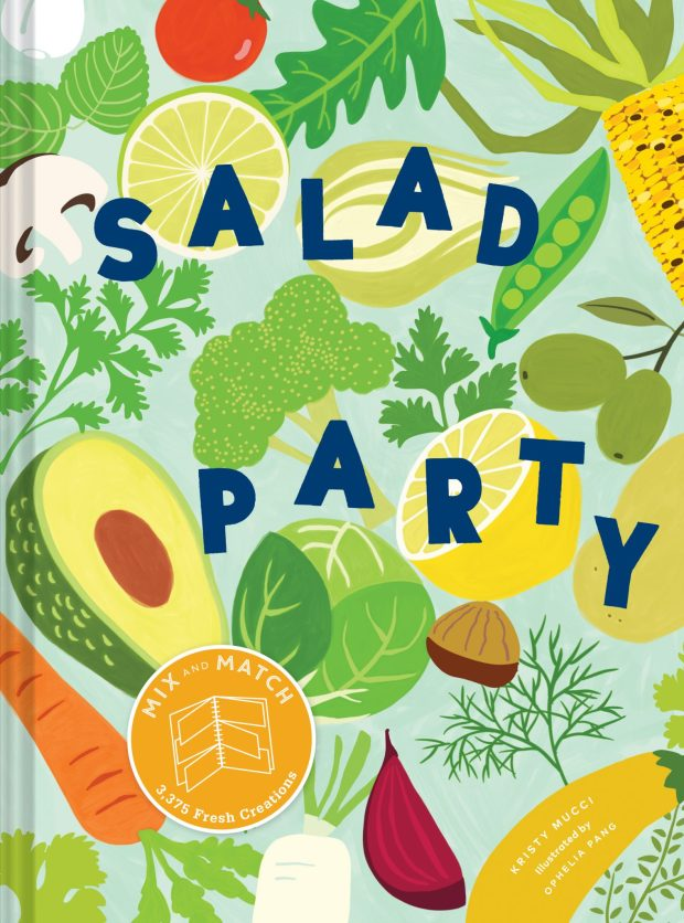 Salad Party by Kristy Mucci. Illustrated by Ophelia Pang.