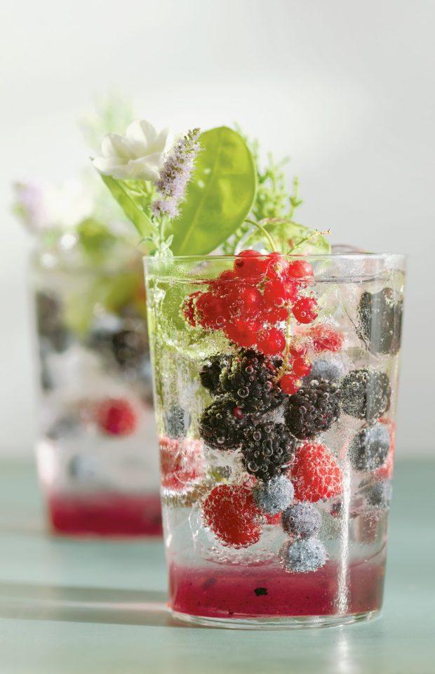 Mixed Berry and Jun Gazoz