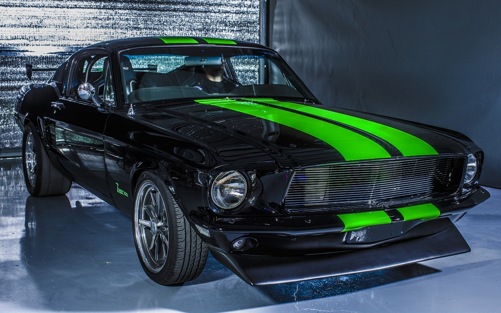 Vintage Electric Mustang Bleeds Torque And Hits 174 Mph