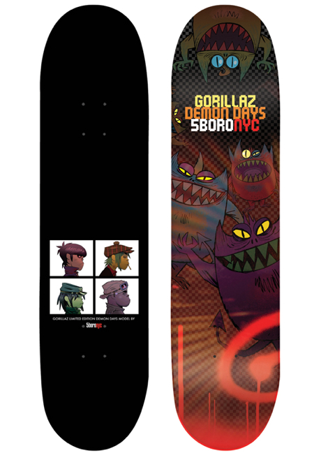 Gorillaz Top Bttm Deck