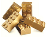 Gold-Legos