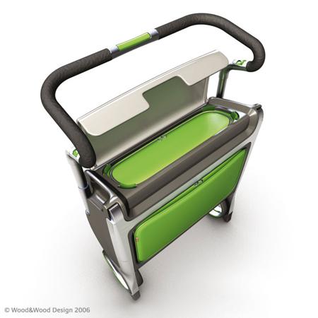 Caddy Open Rear Green