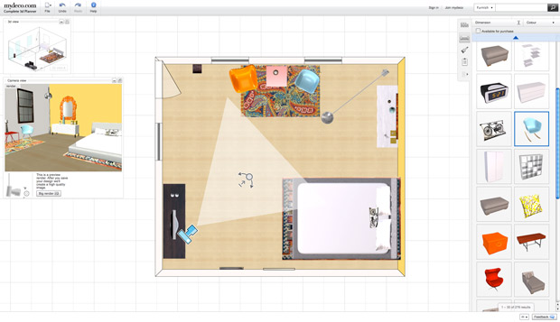 Exceptional Their 3D Room Planning Tool Enables You To Build Any Room To Scale, Either  By Scanning A Floorplan Or By Selecting And Modifying One Of The Templates  They ...