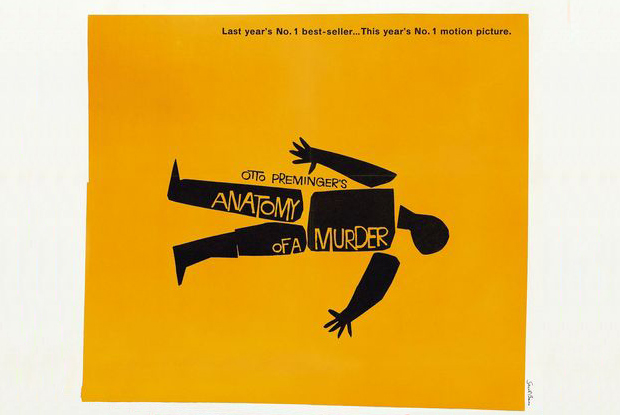 Saul Bass For Anatomy Of A Murder Cool Hunting