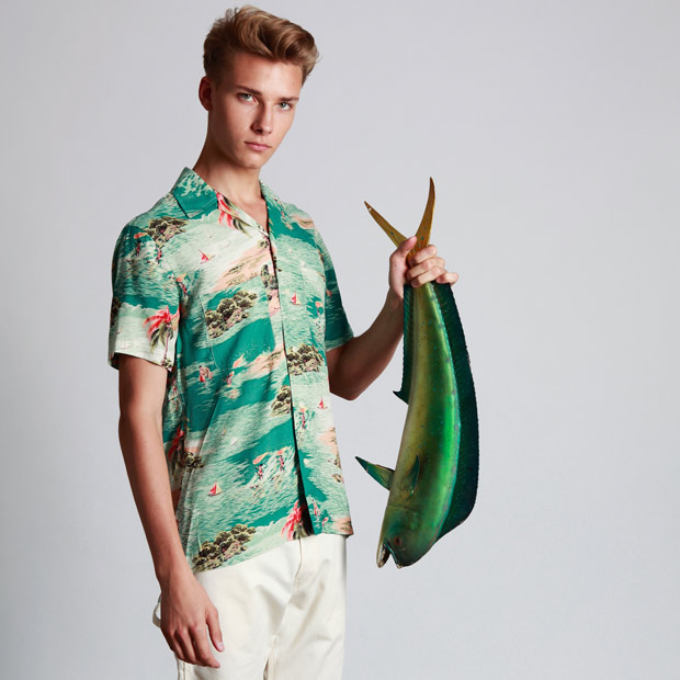 Reproduction shirts vintage hawaiian 1950s Style