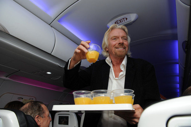 america virgin Richard branson