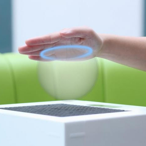 Touchable 3D Holograms