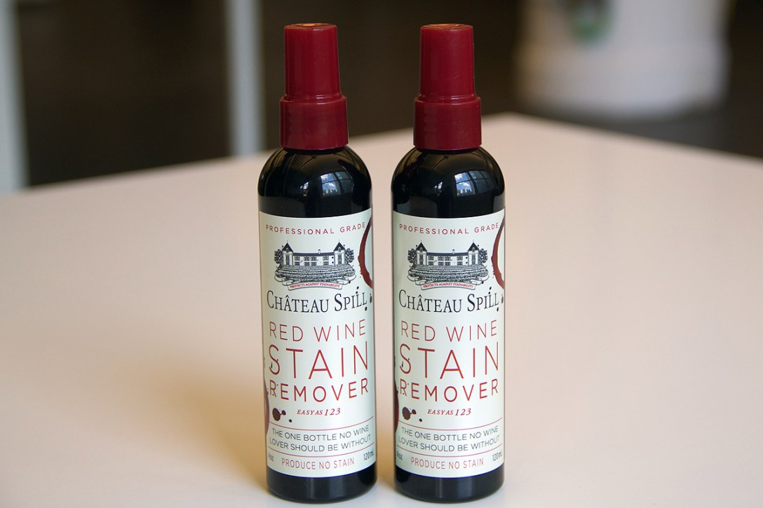 COOL HUNTING Chateau Spill Red Wine Stain Remover