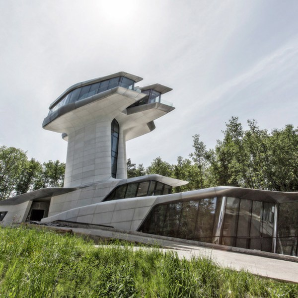 Moscow Home Designed By Zaha Hadid Cool Hunting