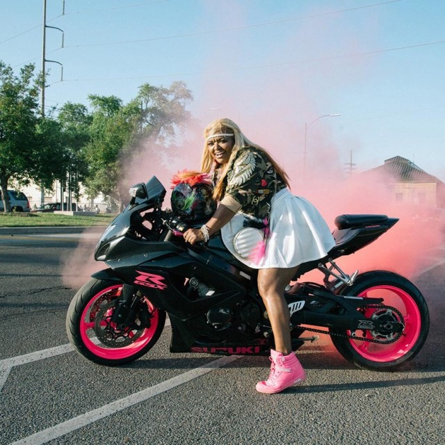 New Orleans' All-Women Motorcycle Club: Caramel Curves