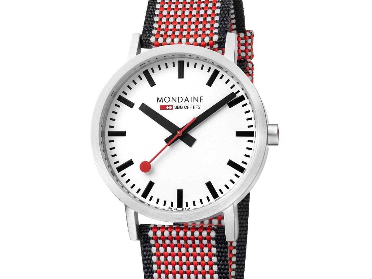 Mondaine Honors the 75th Anniversary of the Swiss Railway Clock