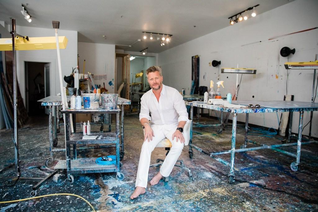Interview: Reverse-Glass Painter Christopher Martin